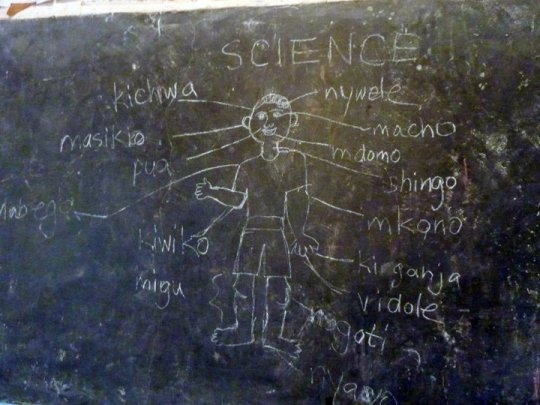 Science lesson for a bunch of four year olds